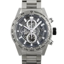 TAG Heuer Carrera Calibre HEUER 01 Titanium 45mm Transparent United States of America, Pennsylvania, Southampton
