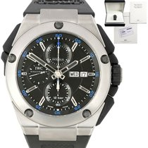 IWC Ingenieur Double Chronograph Titanium Titanium 45.5mm Black United States of America, New York, Massapequa Park