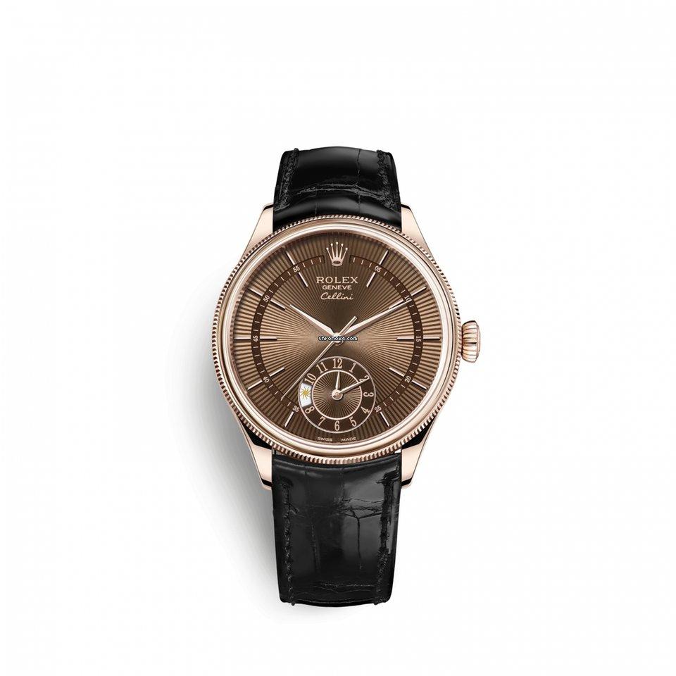 Rolex Cellini Dual Time 505250016 neu
