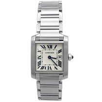 Cartier Tank Française Steel 25mm Silver Roman numerals United States of America, California, Los Angeles