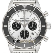 Breitling Superocean Héritage II Chronographe Stahl 44mm Silber Deutschland, Schwabach