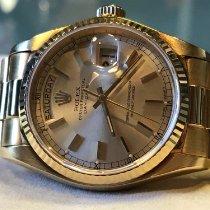 Rolex Day-Date 36 nouveau 2001 Remontage automatique Montre avec coffret d'origine 18038