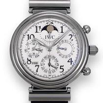 IWC Da Vinci Perpetual Calendar Aço 41.5mm Prata
