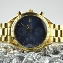 Omega 1750043 Yellow gold 1996 Speedmaster 39mm pre-owned