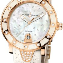 Ulysse Nardin Lady Diver Starry Night Rose gold 40mm Mother of pearl