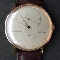 NOMOS Lambda Rose gold 42mm Champagne No numerals