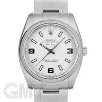Rolex Oyster Perpetual 34 34mm Blanc
