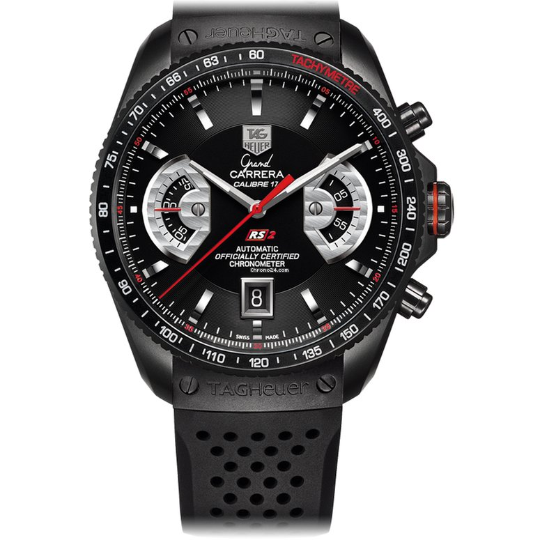 a66eb807393 TAG Heuer Grand Carrera Calibre17 RS2 Chrono Automatic 43mm... for Rs.  463,091 for sale from a Trusted Seller on Chrono24