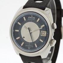 Enicar Memostar Alarm Automatic Watch 298-01-01 Lemania 2980 ...