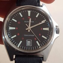 Dugena Troupier Vintage FE 140 1c diameter 40mm Black Dial