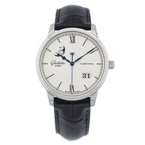 Glashütte Original 40mm Automatic new Senator Excellence Silver