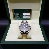 롤렉스 (Rolex) Submariner Date Yellow Rolesor 2 tone Ref: 116613LN