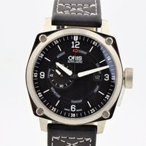 Oris Bc4 Automatic Stainless Steel Black Dial Watch 7617