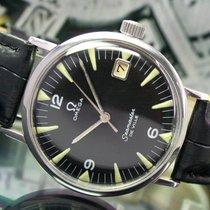 Omega Seamaster Deville Winding Date Steel Mens Vintage Watch