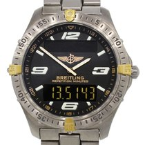 Breitling F65062 Two Tone Aerospace Titanium Gents Watch