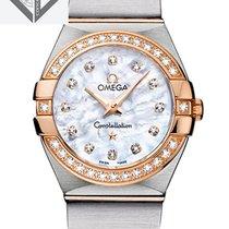 Omega Constellation Quartz 27 Mm With Diamonds - 123.25.27.60....