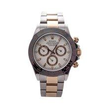 Rolex Daytona 116523 Mens Automatic Watch Two-tone Custom...