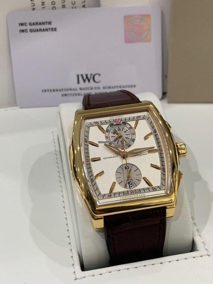 IWC Da Vinci Chronograph IW376402 novo