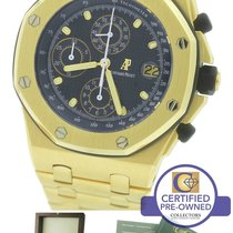 Audemars Piguet Royal Oak Offshore Yellow Gold Blue 42mm...