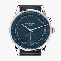 NOMOS Steel 39.9mm Automatic 807 new