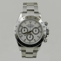 Rolex DAYTONA STEEL WHiTE DiAL P SERiAL