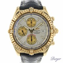 Breitling Crosswind Racing Oro amarillo 43mm Plata