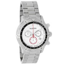 Valentino Chronograph 45mm Quartz pre-owned White
