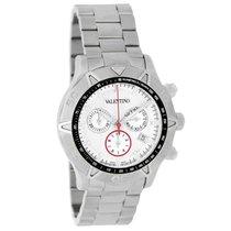 Valentino Chronograph 45mm Quarz gebraucht Weiß