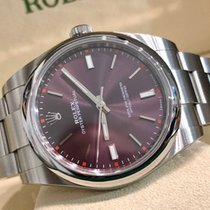 Rolex Oyster Perpetual (Submodel) usato 39mm Acciaio