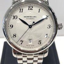 Montblanc Star Stål 42mm Sølv Arabisk
