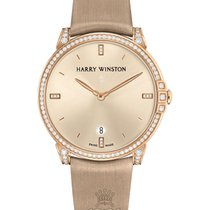 Harry Winston Midnight Rose gold 39mm Gold