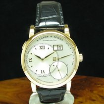 A. Lange & Söhne Red gold Manual winding Silver 41.9mm Grand Lange 1