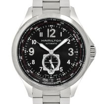 Hamilton Khaki Aviation Steel 42.5mm Black Arabic numerals United States of America, New Jersey, Cresskill