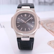 Patek Philippe Nautilus White gold 40mm Arabic numerals