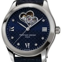 Frederique Constant FC-310NDHB3B6 Steel 2020 Ladies Automatic Double Heart Beat 36mm new
