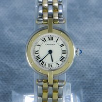 Cartier Panthère Gold/Steel 24mm White Roman numerals