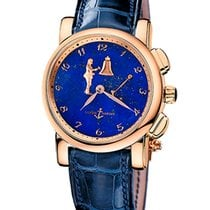 Ulysse Nardin pre-owned Automatic 42mm Sapphire crystal 3 ATM