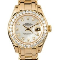Rolex Lady-Datejust Pearlmaster 69298 1991 usados