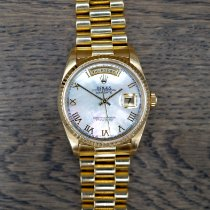 Rolex 18238 Yellow gold 1990 Day-Date 36 36mm pre-owned United States of America, California, Marina Del Rey