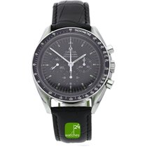 Omega Speedmaster Professional Moonwatch pre-owned 42mm Black Chronograph Tachymeter Calf skin