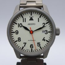 Aristo new Automatic Display back Central seconds 41mm Titanium Mineral Glass