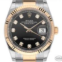 Rolex Or/Acier 36mm Remontage automatique 126233 nouveau