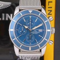 Breitling Superocean Héritage Chronograph occasion 46mm Bleu Chronographe Date Acier