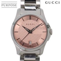 Gucci G-Timeless Acero 28mm Rosa