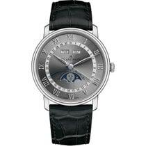 Blancpain Villeret Quantième Complet neu 2021 Automatik Uhr mit Original-Box und Original-Papieren 6654-1113-55B