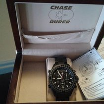 Chase-Durer fighter command alarm chronograph steel