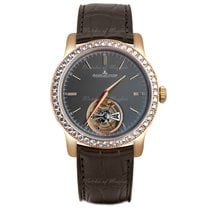 Jaeger-LeCoultre Master Grand Tourbillon Rose gold 43mm Grey