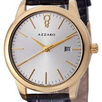 Azzaro Gold/Steel Quartz AZ2040.62SB.000 new