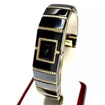 Rado Diastar 18k Gold, Ss & High-tech Ceramic Ladies Watch...