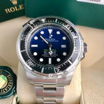 Rolex Sea-Dweller DeepSea D-Blue 116660 B/P NEW